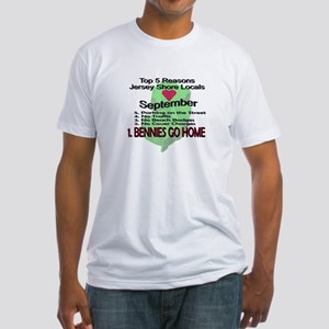 Bennies Go Home Fitted T-Shirt