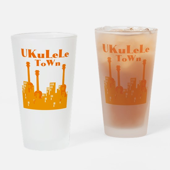 Ukulele Town Pint Glass