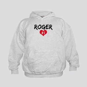 Roger number one Kids Hoodie