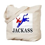 Democrat Jackass Tote Bag
