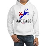Democrat Jackass Hooded Sweatshirt