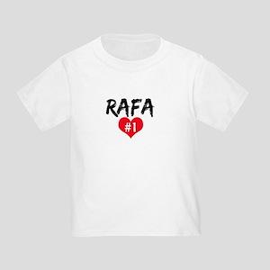 RAFA number one Toddler T-Shirt