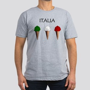 Gelati Italiani Men's Fitted T-Shirt (dark)