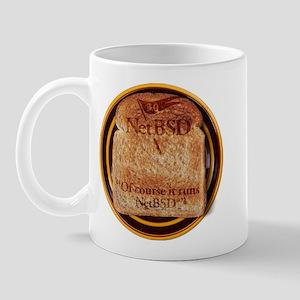 NetBSD 3.0 Disc Image + Support Mug