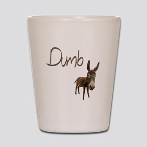 Dumb Donkey Shot Glass