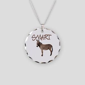 Smart Ass Necklace Circle Charm