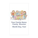 Family Reunion #1 Sticker (Rectangle 50 pk)