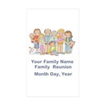 Family Reunion #1 Sticker (Rectangle 10 pk)