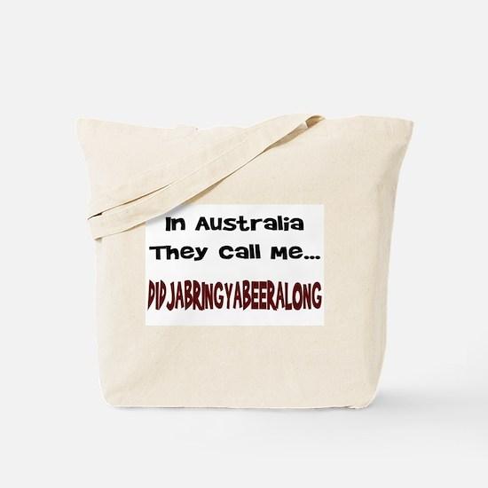 Australian Beer Joke Tote Bag