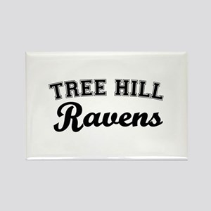 Tree Hill Rectangle Magnet