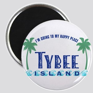Tybee Happy Place - Magnet