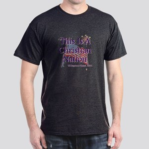 This is a Christian Nation Dark T-Shirt