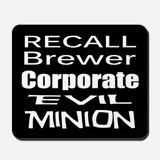 Recall Governor Brewer Mousepad