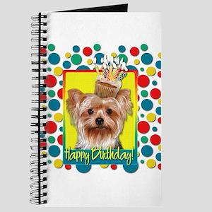 Birthday Cupcake - Yorkie Journal