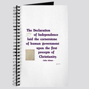 Declaration of Independence Cornerstone Journal