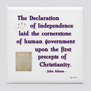 Declaration of Independence Cornerstone Tile Coast