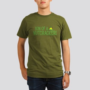 Son of a Nutcracker! Organic Men's T-Shirt (dark)