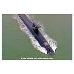 USS CASIMIR PULASKI Large Poster
