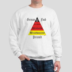 German Food Pyramid Sweatshirt