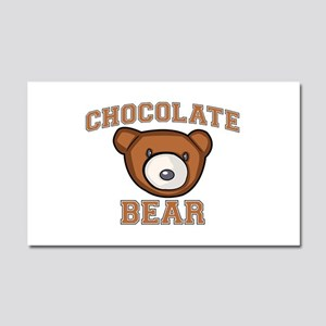 Chocolate Bear Car Magnet 12 x 20