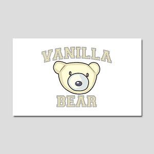 Vanilla Bear Car Magnet 12 x 20