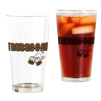 Teabagger Pint Glass