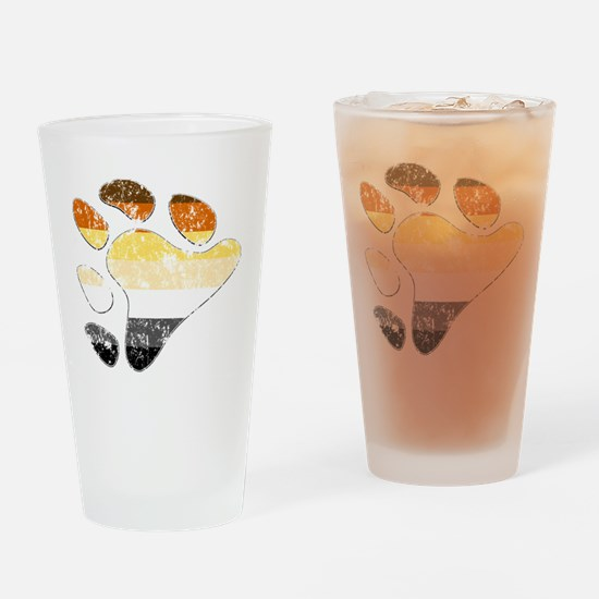 Bear Pride Claw Pint Glass