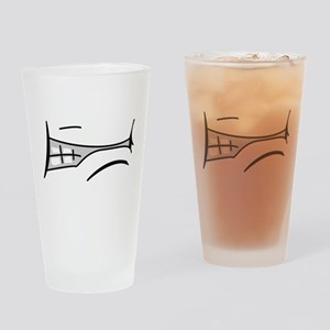 Angry Mouth Pint Glass