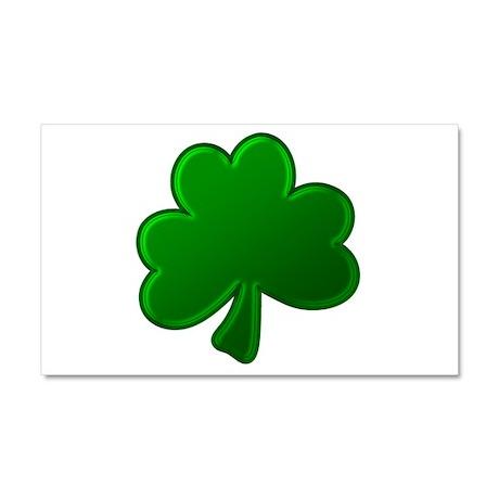 Lucky Green Clover Car Magnet 12 x 20