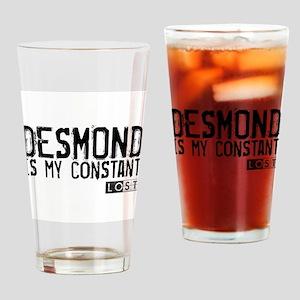 Desmond Is My Constant Pint Glass