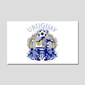 Uruguay Soccer Car Magnet 12 x 20