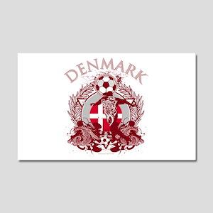 Denmark Soccer Car Magnet 12 x 20