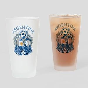 Argentina Soccer Pint Glass