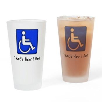 That's How I Roll Pint Glass