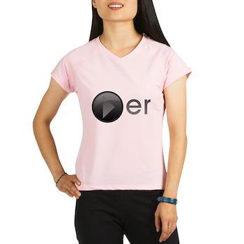 Player Women's Double Dry Short Sleeve Mesh Shirt