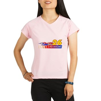 I Piss Excellence Women's Double Dry Short Sleeve