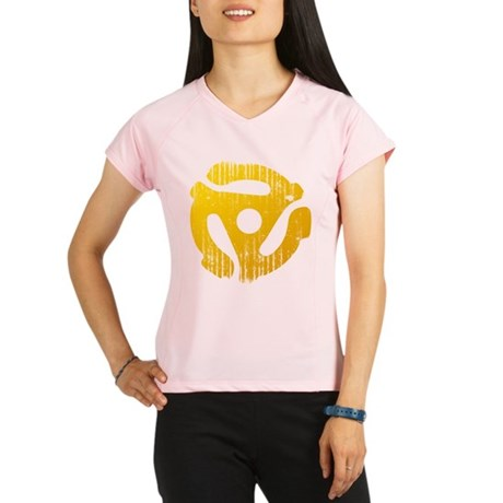 Distressed Yellow 45 RPM Adap Women's Double Dry S