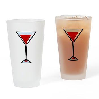 Vampire Martini Pint Glass
