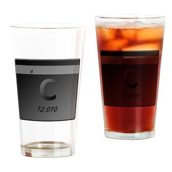 Carbon (C) Pint Glass