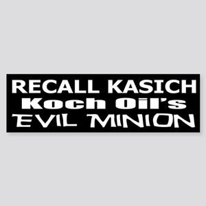 Recall Governor Kasich Sticker (Bumper)