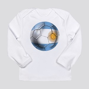 Argentina Football Long Sleeve Infant T-Shirt