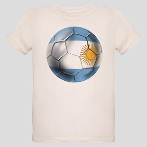Argentina Football Organic Kids T-Shirt