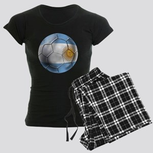 Argentina Football Women's Dark Pajamas