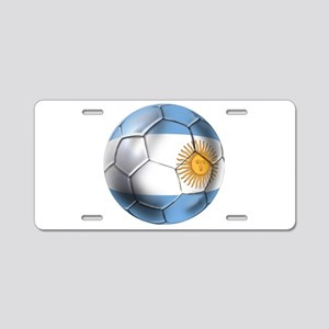 Argentina Football Aluminum License Plate