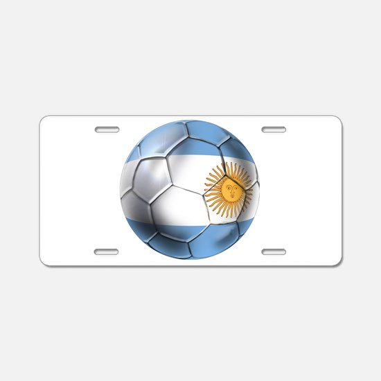 Argentina Football Aluminum License Plate