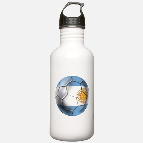 Argentina Football Water Bottle