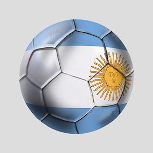 "Argentina Football 3.5"" Button"