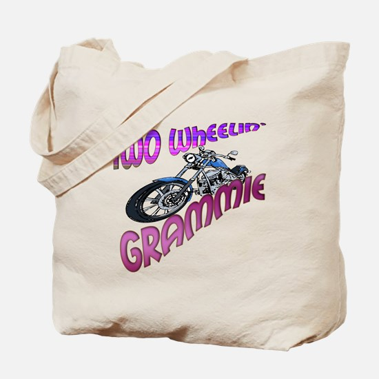 TWO WHEELIN' GRAMMIE Tote Bag