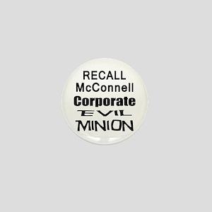 Recall Mitch McConnell Mini Button