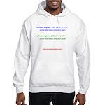 HW Engineer vs. SW Engineer Hooded Sweatshirt